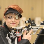Lauren Phillips wins Women's Three-Position Rifle final.