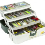 6203-06 Three Tray Tackle Box.