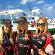 The Easy2Hook Team, Katie Kinsell, Larysa Switlyk and Devan Coffaro