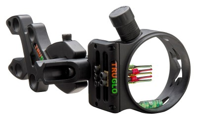 The TRUGLO Storm is an Ultra-lightweight archery sight.