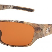 The camo sunglasses come in four lightweight TR90 frame styles – Velocity (shown above), Vengeance, Venom and Victory.