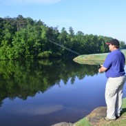 Golf course lakes and ponds often hold large amounts of rarely-fished bass and bluegills.