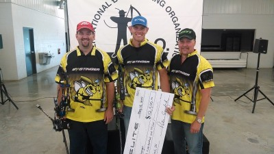 Levi Morgan takes IBO Triple Crown title.