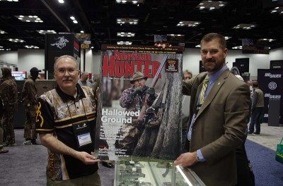 (Left) Paul Thompson, Browning; (Right) Adam Heggenstaller, American Hunter