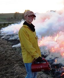 Erica Yost will help to further Pheasants Forever's habitat mission in Iowa.