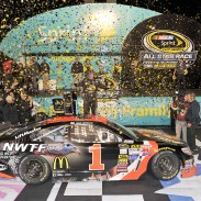 Bass Pro Shops promoted NWTF on winning No. 1 car of Jamie McMurray