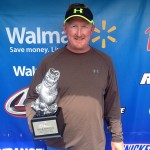 Matt Jones weighed a five-bass limit totaling 15 pounds, 11 ounces.