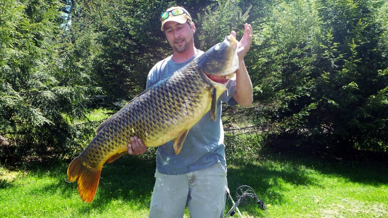 Vermont bowfisherman catches largest fish in state records for Vermont state fish