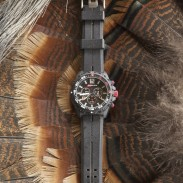 The author had the opportunity to take an Isobrite Chronograph ISO401 watch on a recent turkey hunting trip.