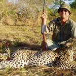 Larry recounts his encounter with a leopard.