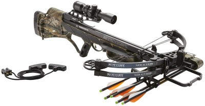 The Stryker Solution and Solution LS, high-performance crossbows.