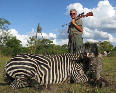 Larry recounts an African Zebra hunt.