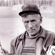 Rapala founder Lauri Rapala holds an impressive fish caught on an Original Floating Rapala.