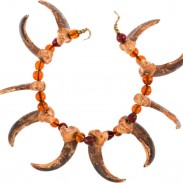 This bear-claw necklace was gifted to Buffalo Bill from Sitting Bull as a sign of their friendship.