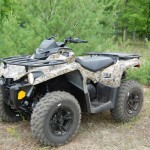 The 2015 Can-Am Outlander L 500 DPS is an all-new machine aimed at the budget-conscious buyer. It has some pretty impressive features for the price.