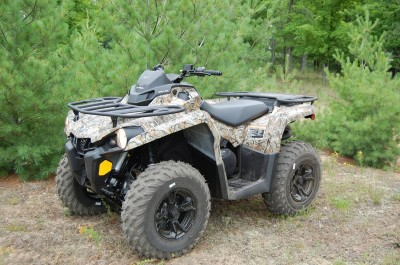 Review 2015 Can-Am Outlander L 500 DPS