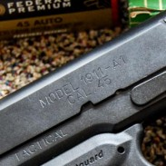 An example of a modern 1911, this Springfield Armory 1911 TRP has a number of tweaks to the original design. Image by Tom McHale.