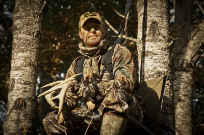 The weekend out-of-state (or out-of-your-hometown) hunt allows you to hunt aggressively with rattling and calling. If you're not successful the first time around, then the area has time to settle down before your next trip.
