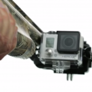The new Sportsman mount will allow hunters and anglers to attach GoPro cameras to their gear.