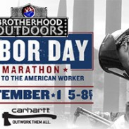 Brotherhood Outdoors labor day marathon
