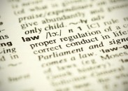 "Dictionary definition of the word ""Law"""