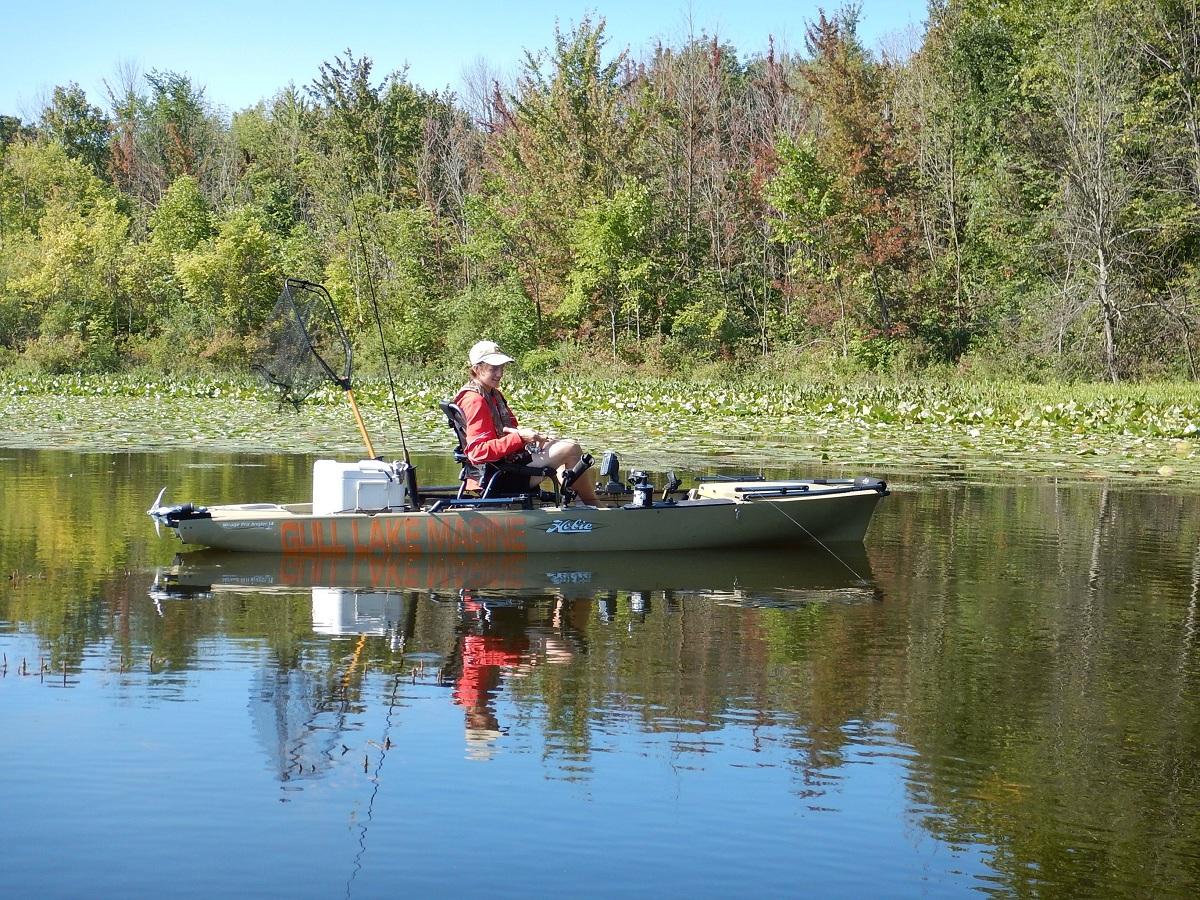 Small waters hold great michigan bass outdoorhub for Michigan bass fishing tournaments