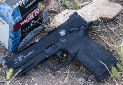 Review A Big Little Surprise from Smith  Wesson The MP22 Compact Pistol