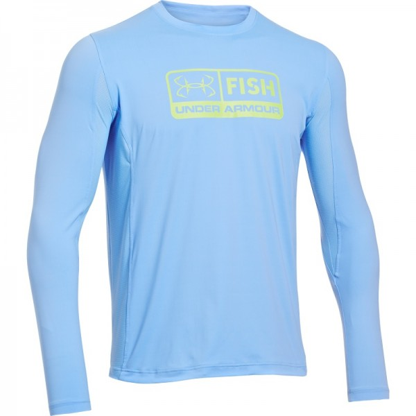 Under armour iso chill technology keeps you cool when the for Under armor fishing shirt