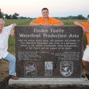 From left, Jeff Finden, Kavin Bailey and Tanner Bailey. The Baileys are members of the Glacial Ridge Pheasants Forever chapter.