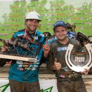 Chad Wienen and teammate Thomas Brown victorious at AMA Pro ATV MX Series Championship.