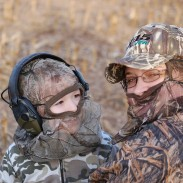 When our son was three, he started going afield to goose hunt with us. Waterfowl hunting is a great way to teach kids about hunting and conservation.