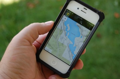 The HuntStand Lite app lets you create an interactive overlay of your property using several different tools.