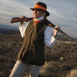 Elizabeth Lanier, professional shooting instructor, GRITS founder, and shotgunner extraordinaire.