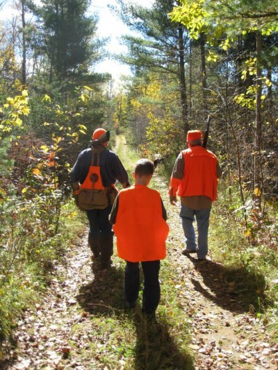 Woodcock hunting is a great way for families to spend time in the woods.