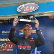Jimmy Johnson weighed a five-bass limit totaling 13 lbs, 13 oz
