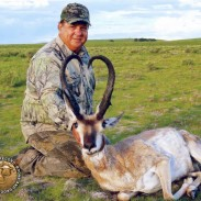 Mike Gallo and his record New Mexico Pronghorn.
