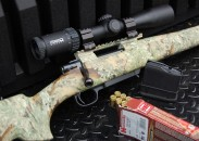 Combining a Steiner GS3 2-10x42mm scope with a 7mm-08 Howa rifle loaded with Hornady Superformance rounds makes for a compact hunting machine capable of taking game at some far-out distances.