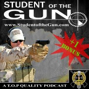 Student of the Gun Podcast Radio Logo Bonus
