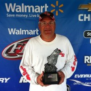 Will Cranston weighed a two-day eight bass total of 17 lbs, 11 oz