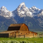 Jackson Hole, Wyoming in the Grand Tetons has been a gathering place for wildlife and people for thousands of years.