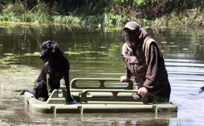 Iowa Man Creates Water Walker to Help Duck Hunters Stay Mobile