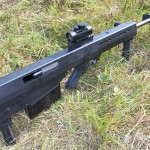 The new Leader 50 A1, chambered in .50 BMG, weighs only 18 pounds unloaded.