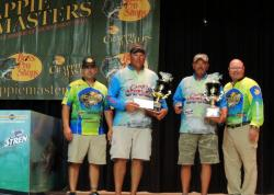 The Bass Pro Shops Crappie Masters National Championship winners, Alan Carter and Tony Sheppard.