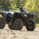 The 2015 Honda Foreman Rubicon Automatic DCT EPS Deluxe model is as nice to look at as it is to ride.