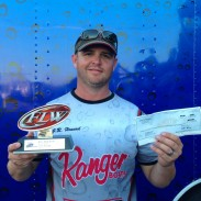 J.R. Henard weighed a two-day 10 bass total of 42 lbs, 5 oz.