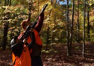 It doesn't take a lot of expensive gear for a family to enjoy an afternoon squirrel hunt in the Michigan woods.