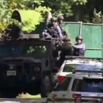 Wildlife officials in Pennsylvania have called off hunting and trapping in seven areas after pipe bombs allegedly left by suspected cop killer Eric Frein were discovered.
