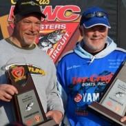 Fishing duo Jeff Koester and Scott Rhodes.