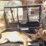 93-year-old Bruno Delai finally bagged a doe after three years without success.
