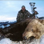 A close encounter rewarded Rodney Debias with this potential world record grizzly.